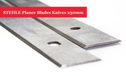 STEHLE Planer Blades Knives 230mm - 1 Pair Online