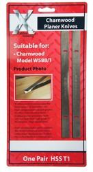 Planer blade for W588/1 Charnwood, 1 Pair knives inc Vat,  WM1004