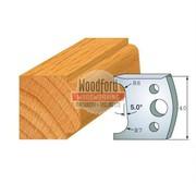 Online Profile 002 Spindle Moulder Cutters - 40mm Profile Knives