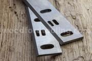 Woodstar PT65 HSS Planer Blades knives SLOTTED for Sale