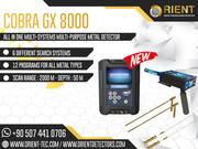 COBRA GX 8000 – Easy Way to Find Golden Treasures