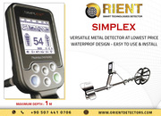 Simplex Simple Easy to Use Metal Detector at Low Price